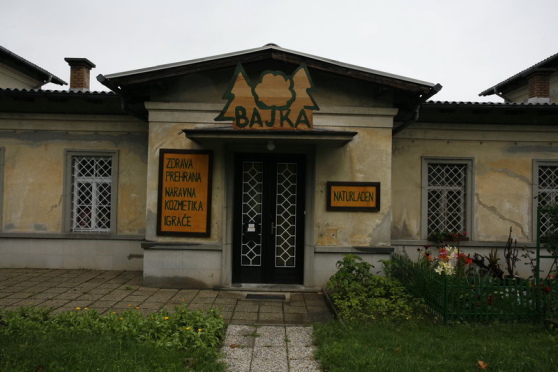 "Shop called ""Bajka"" (fairy tale)"
